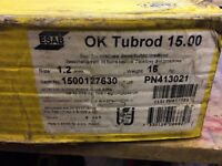 ESAB OK Tubrod 15.00 all-positional rutile flux-cored mig wire 16kg 1.2mm