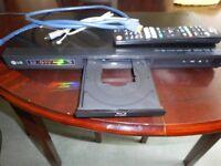A LG BD660 BLU-RAY 3D PLAYER.