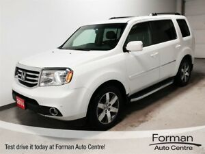 2014 Honda Pilot Touring - Remote start | Rear DVD | Loaded