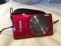 Red cannon IXUS camera