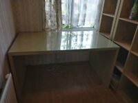 Ikea Glass Top Desk - Great for Students/Office!