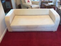 Melrose Double Sofabed in natural colour
