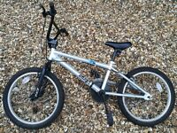 Kids BMX Park Bike. Fat tyres. Great Condition but used. Son grew out of it so grab a bargain.