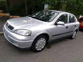 Vauxhall Astra Club 1.6 2004 silver