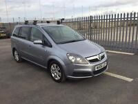 2006 Vauxhall Zafira 1,9 litre diesel 7 seater