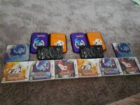 2 limited edition nintendo pokemon 3ds xl consoles with games and cases