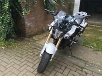 Bmw f800r 2015 low mileage kept in garage inspected in excellent conditions