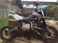 STOMP KZR 140/160 stomp pitbike