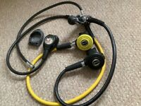 Diving equipment..Mares regulator set in excellent condition