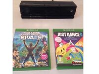 Xbox one Kinect + 2 games