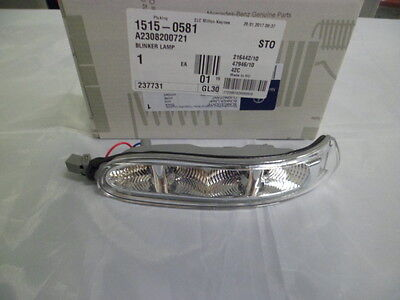 Genuine Mercedes-Benz - CLK & SL LH Mirror Indicator Lamp A2308200721 NEW