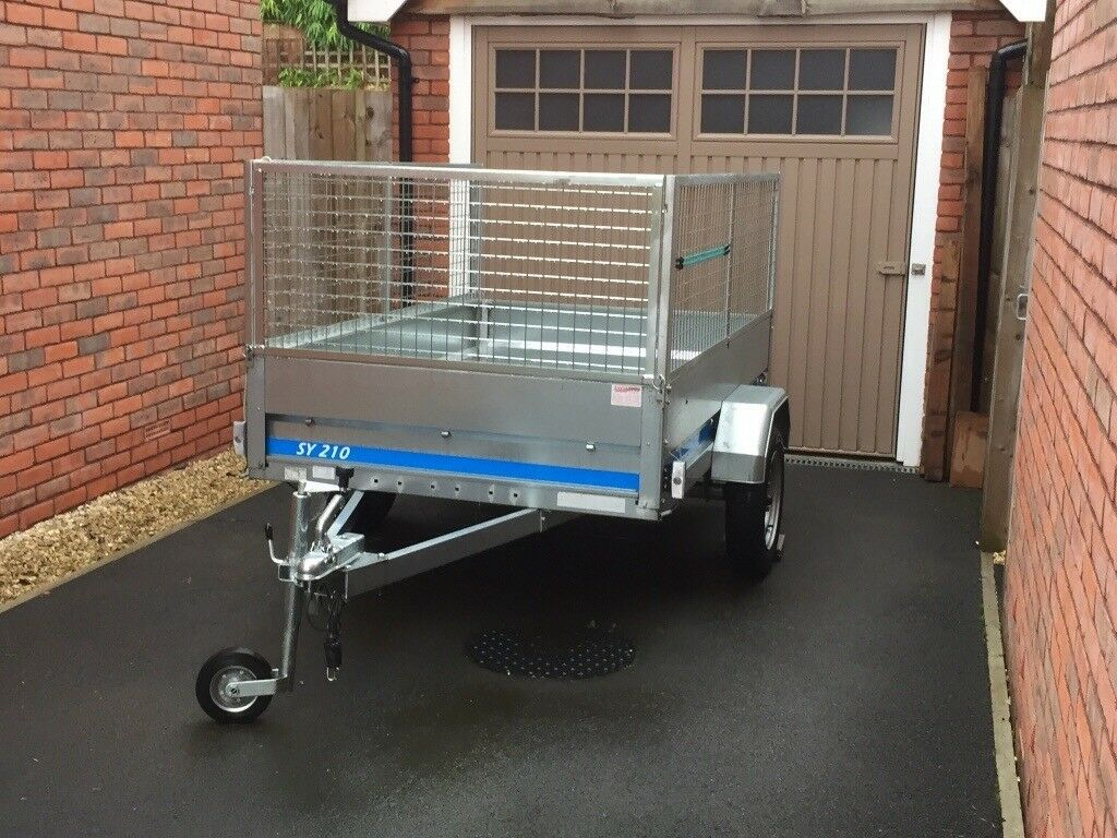 Trailer Single Axle Galvanised Steel