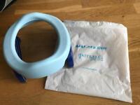 Blue Potette Plus Portable Potty