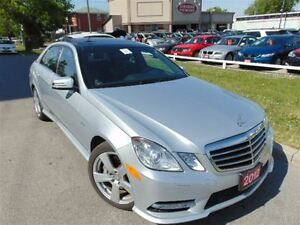 2012 Mercedes-Benz E-Class E350 NAVI B-UP CAMERA PANORAMIC ROOF