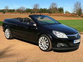 Vauxhall Astra 1.9 CDTi Exclusive Twin-Top Cabriolet Convertible Diesel * 103k * FSH * Full Leather