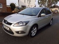 2009 '09' Ford Focus Tdci Zetec (109) Bluetooth Facelift model £30 a Year Tax FSH astra golf size
