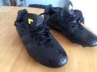 Adidas ace 16.4 black football boots