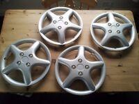 "Set of 4 x 14"" Wheel Trims - Unused"