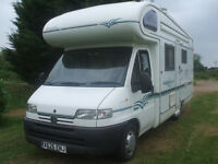 camper /motorhome .FULL SERVICE HISTORY AND MILAGE RECORDS ,ANY INSPECTION WELCOME ,first will buy