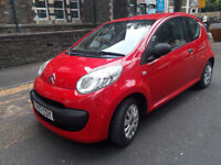 2007(07)CITROEN C1 1.0 VIBE BRIGHT RED,FSH,£20 TAX,CLEAN CAR,GREAT VALUE
