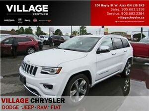 2016 Jeep Grand Cherokee Overland|LOW kms|Nav|Panroof|Tow|Remote