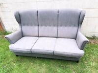 Ikea 3 seater retro sofa