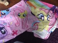 My little pony single duvet cover