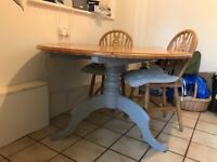 Wooden table for kitchen