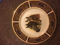 Champion horse racers ,Wall plate ,