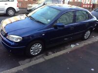 Automatic blue vauxhall astra 1.6 5 dr