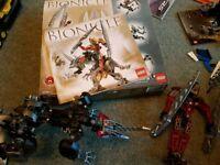 Lego Bionicle- Toa Lhikan and Kikanalo