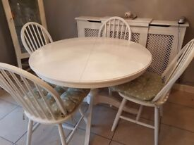 Ikea ingatorp dining table and 4x chairs