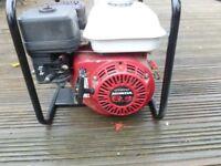 honda gx200 petrol water pump