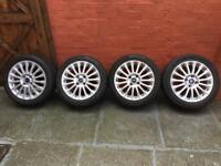 Ford Fiesta Alloy Wheels Full Set 195/50/R16