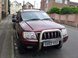 GEEP GRAND CHEROKEE AUTOMATIC DIESEL 2,6 CC FOR SALE