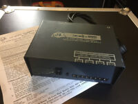 MTR DC-8DPR Dual Polarity Regulated Power Supply - effects pedals / pedalboards / studio