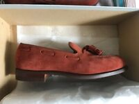 Pair of Crockett and Jones Loafers UK 6.5 Rubber Sole