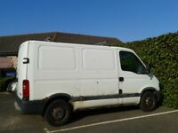 RENAULT MASTER VAN DCI 90 (NEEDS MOT) FIXED PRICE £300