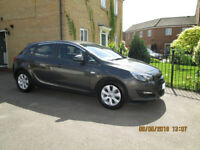 2015 (65) Astra 1.4 Design, 16v 5 Door : Only 9,985 Genuine miles, with FSH