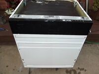 Electrolux integrated dishwasher in good clean working order with 3 months warranty