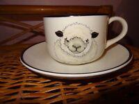 Arthur Wood sheep Mug & Saucer