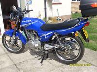 Sanya SY125-11 motorcycle