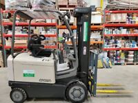 Crown FC 4020 - 2.0 TT5230 USED 4 WHEEL ELECTRIC FORKLIFT Low Hours, Serviced