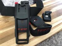 b-grip belt holster, hand strap & tripod attachment