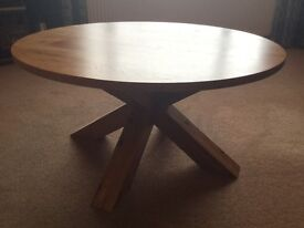 Solid Oak Coffee Table from Next