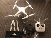 DJI phantom 3 4K drone fully working with original box charger etc