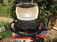 For Sale. Weber Portable Gas Barbeque. Compact, light, easy to light. Used