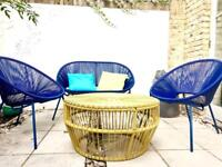 John Lewis Outdoor Furniture Set and cushions