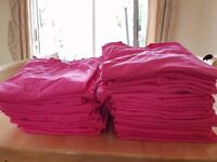 BRAND NEW 100% cotton, good quality PINK T-shirts, great for Race for Life, Hen parties etc