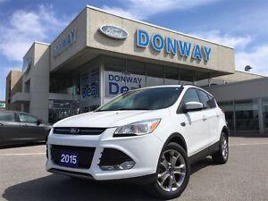 2015 Ford Escape SE   NAVIGATION   1 OWNER   LOW KILOMETERS  